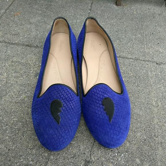 Chatteles Paris Shoes - Anthropologie Chatelles Paris Broken Heart Loafers